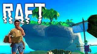 Raft #08 | Eine Insel voller Lehm & Schrott | Gameplay German Deutsch thumbnail