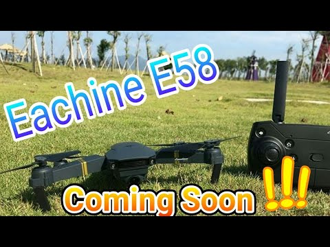 Upcoming!!! Eachine E58 Wifi FPV High Hold Altitude Wide angle Camera