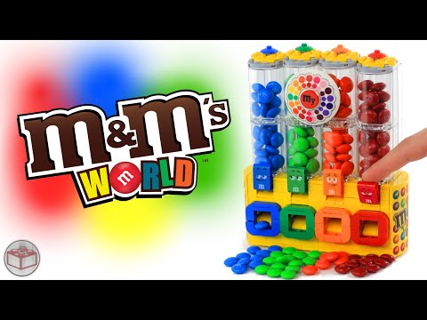 LEGO M&M's Chocolate Candy Machine