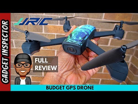 JJRC H55 Tracker Drone with GPS Wifi FPV 720p Camera - Full Review