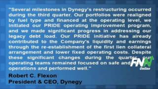 Dynegy Misses Q3 Estimates