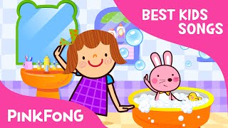 Splashing in the Bath | Best Kids Songs | PINKFONG Songs for Children