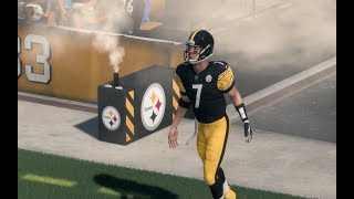 Madden 18 Frostbite Engine Graphics | Player Intros | Stadium Exteriors | Weather Effects