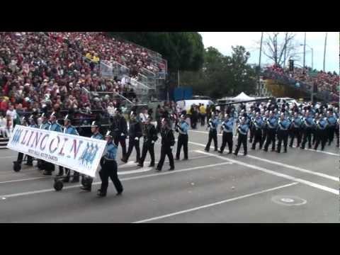 Lincoln HS Patriot Marching Band - 2013 Pasadena Rose Parade