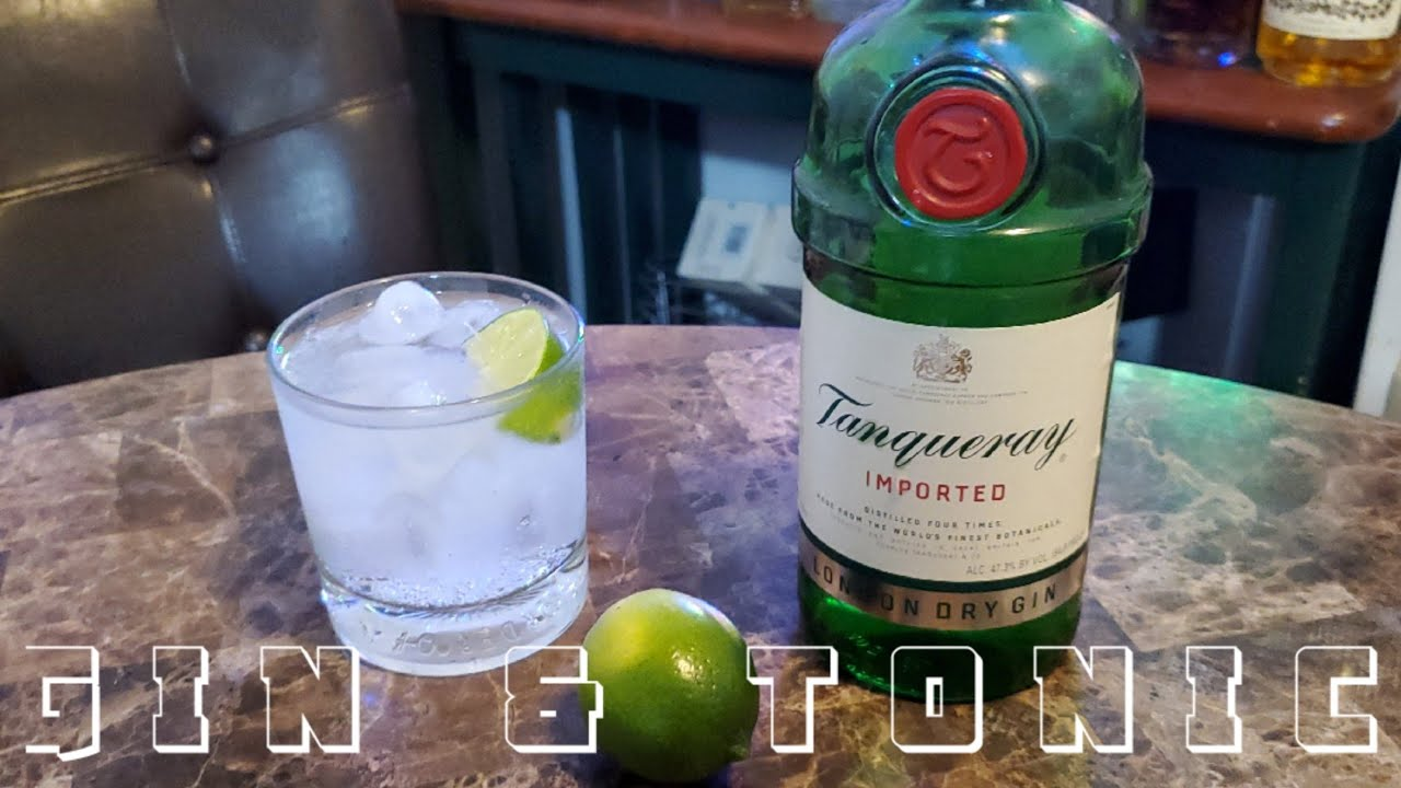 Download TANQUERAY GIN & TONIC