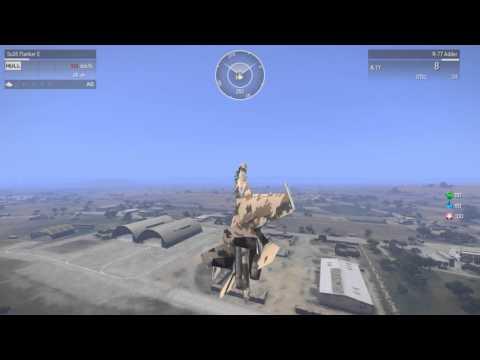 Воздушный бой на Су 35 Arma 3