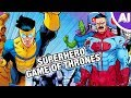 Invincible Will Be The Game Of Thrones Of Superhero Shows Animation Investigation mp3