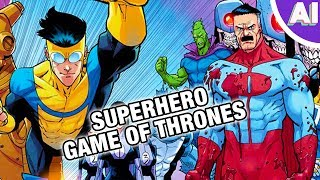 Invincible Will Be the Game of Thrones of Superhero Shows (Animation Investigation)