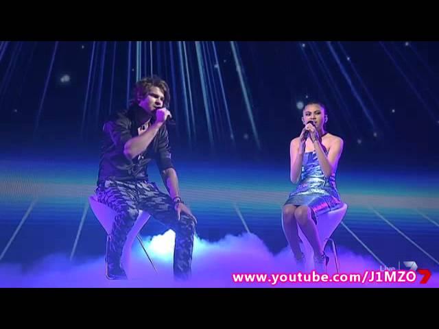 Dean Ray & Marlisa Punzalan Duet - Live Grand Final Decider - The X Factor Australia 2014