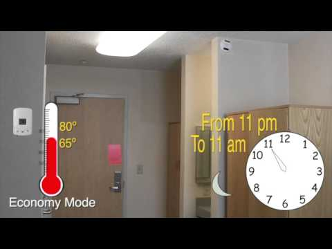 Kent State University, Residence Services, Automated Heating And Cooling  System Part 91