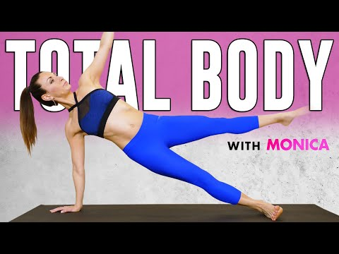 Total Body Barre(less) Barre Workout ♥ Dance Fit, 20 Min. Beginner-Intermediate Class