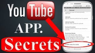 Video 8 YOUTUBE APP SECRET SETTINGS - Hidden Features You Need To See 2017-2018! download MP3, 3GP, MP4, WEBM, AVI, FLV September 2018