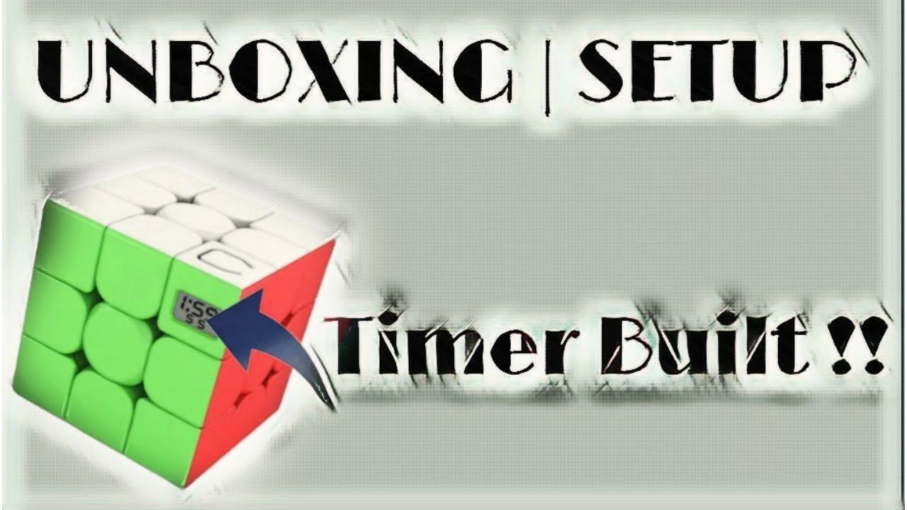 Unboxing Meilong timer Rubik's cube