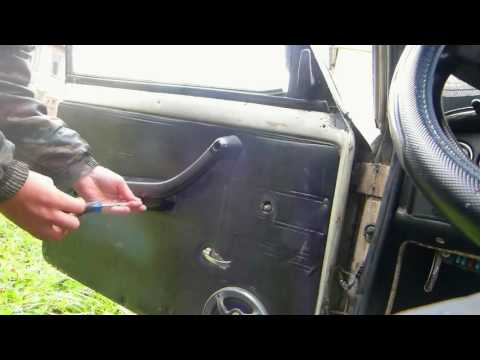 ВАЗ 2106 Как заменить личинку замка