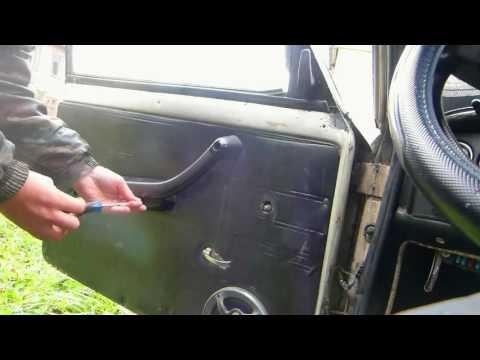 Как поменять личинку в замке ваз 2106