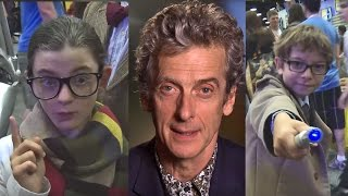 Whovian Kids ask the Doctor! - Doctor Who on BBC America w/ Peter Capaldi