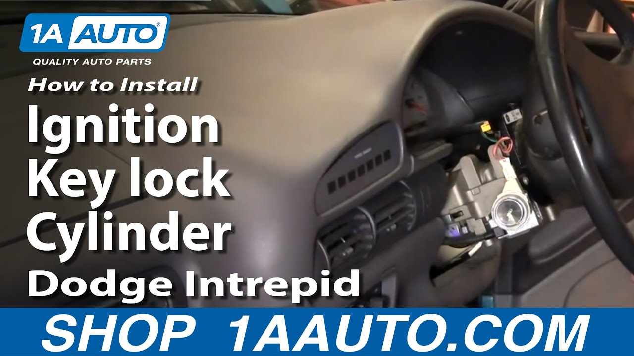 hight resolution of how to replace ignition lock cylinder 93 97 dodge intrepid 1a auto parts