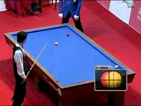 Frederic Caudron World Cup 3 Cushion Billiard Korea 2008