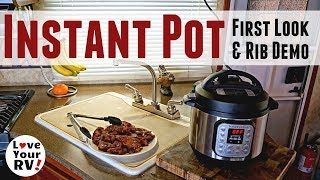 First Try at Using my New Instant Pot DUO Mini