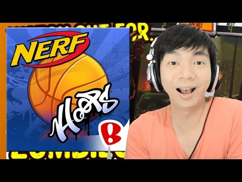 Play Basketball Like Paper Toss - NERF Hoops - Hand On Gameplay