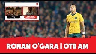 Israel Folau reaction | Leinster can crack Toulouse | Munster vs Saracens | Ronan O'Gara