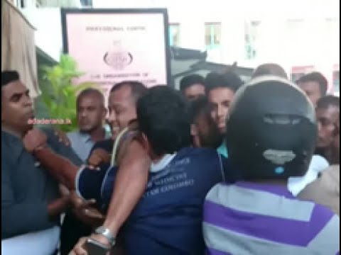 Who attempted to abduct student union convenor Rayan Jayalath?