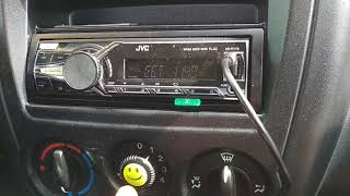 Подключение телефона к магнитоле JVC через USB