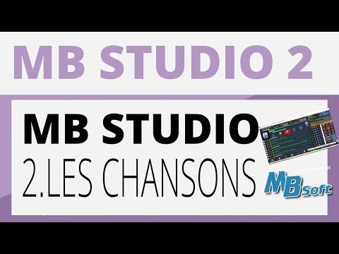Créer sa radio - MB STUDIO - 2 Les chansons
