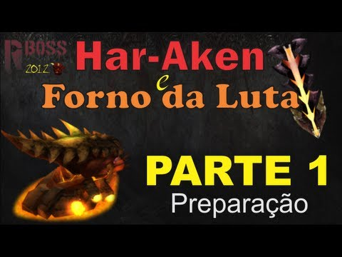 RuneBoss Har-Aken - Parte 1 - Preparação (Fight Kiln)
