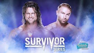 WWE Survivor Series 2015 Tyler Breeze vs Dolph Ziggler 2K16 Gameplay