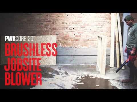 PWR CORE 20™ Brushless 20V Jobsite Blower