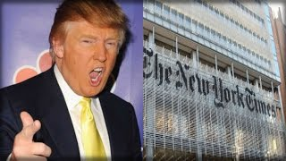 NEW YORK TIMES IN FLAMES! WHAT TRUMP DID TO THEM HAS EVERY AMERICAN TOTALLY SHOCKED!
