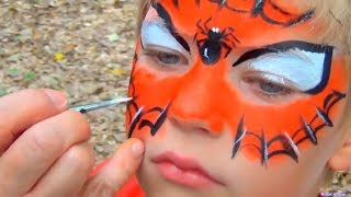 Kids Makeup Play with Paints video for kids by Rinat show