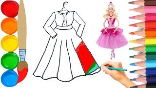How To Draw a Barbi Dress, an Egg in a Frying Pan, And a Gardener-Training Video