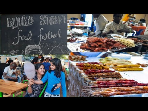 Street Food festival Africa Tanzania Arusha| Njiro street food festival |Telugu vlogs