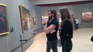 Выставка Э.Мунк 2019. Третьяковская галерея. ч.3. доступна