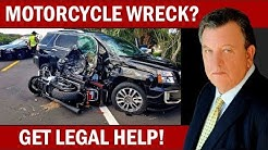Motorcycle Accident Lawyer in Dunedin FL (813) 544-5585 Biker Attorney Personal Injury Law Firm