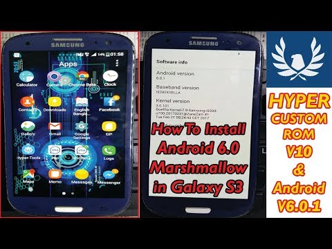 How To Install Android 6 0 Marshmallow HYPER ROM On Samsung Galaxy|Install  Custom ROM On Any Samsung