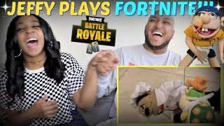 "SML Movie: ""Jeffy Plays Fortnite!"" REACTION!!!"