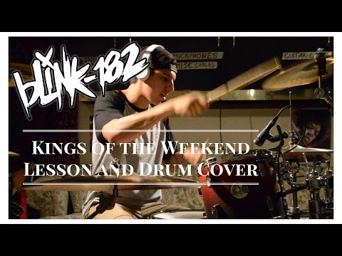 blink-182 & Travis Barker // Kings of the Weekend - Drum Cover & Lesson
