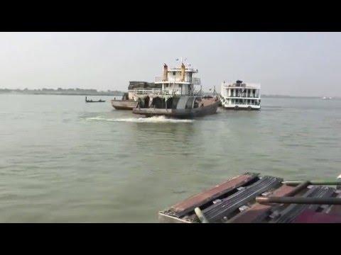 Irrawaddy River Sounding between Mandalay and Bagan, Myanmar