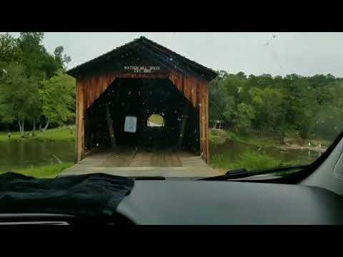 Athens GA CVK RV Base Camp.Watson Mill Bridge State Park and Shaking Rock Park