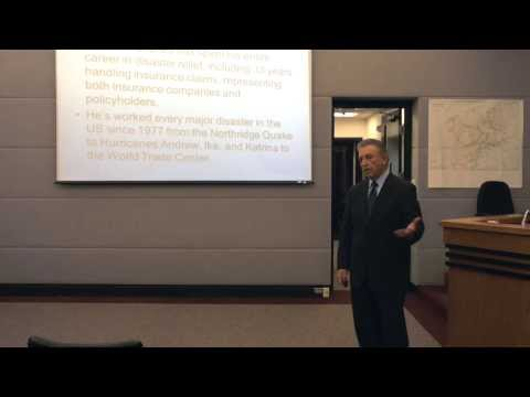 Flood Damage and Insurance Workshop 2/4/14 Part 2 of 2