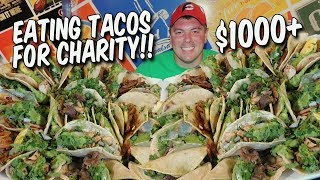 Mexican Street Tacos Challenge for San Diego Children's Hospital!!