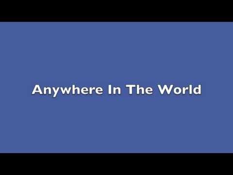 Anywhere In The World Lyrics - Mark Ronson Ft Katy B