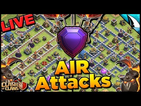 Attacking LIVE In Legends With Sui Lalo And Electrone! Check These Common Bases   Clash Of Clans