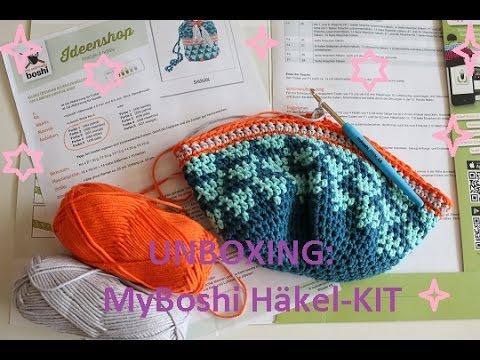 UNBOXING: MyBoshi Kit Tasche-Shunan / Tipps zum Muster - YouTube