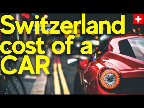 Cost of owning a car in Switzerland - Can you guess Swiss' best selling car?