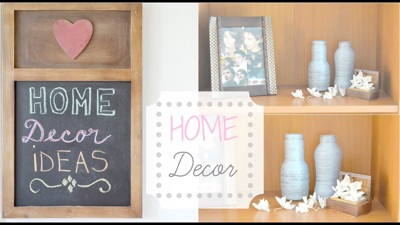 & Home Decor Ideas u0026 DIY | Shelves Decoration - YouTube