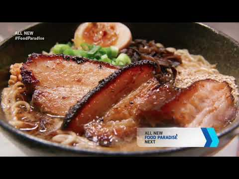 "DOMU featured on an episode of ""Food Paradise"" on the Travel Channel"
